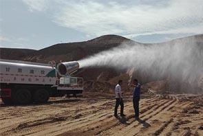华力机电土方工程专用喷雾机