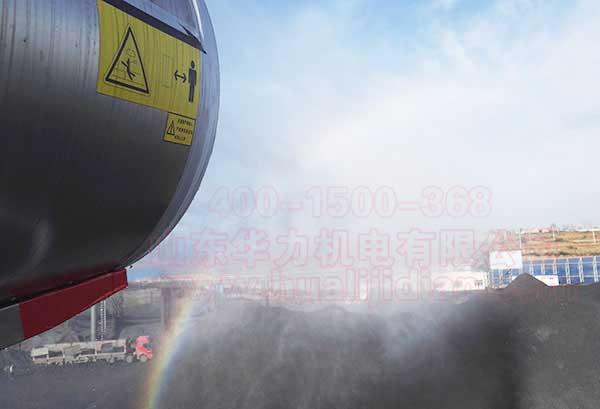 工地远程除尘雾炮机