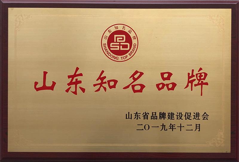 山东知名品牌
