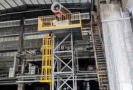 工厂用100米高塔式喷雾机2