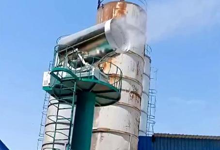 天地美高塔式100米雾炮机煤场